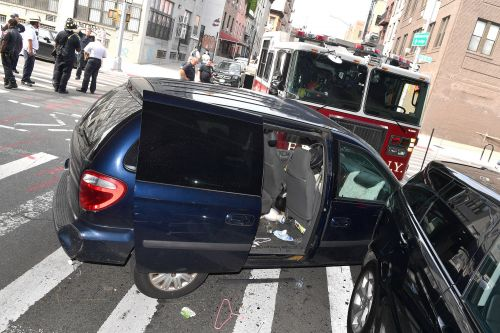 FDNY truck collides with vehicle in Brooklyn, injures 10