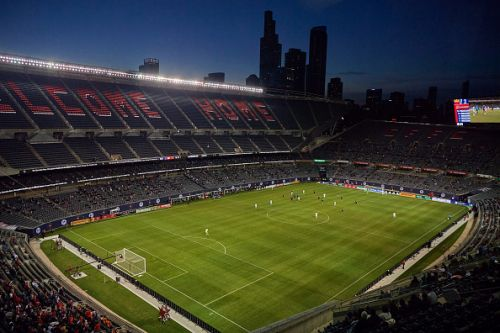 With fans allowed in the stands, Chicago Fire FC starts strong but settles with a tie in their opener