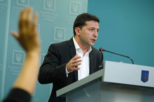 Zelensky calls on Ukrainians not to interfere in U.S. election