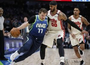 Doncic, Hardaway lead Mavericks over Trail Blazers, 120-112