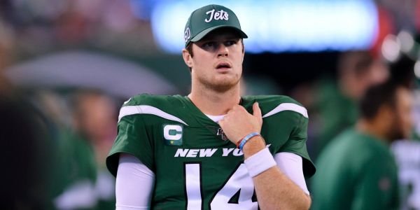Sam Darnold admitted to 'seeing ghosts' during 'Monday Night Football' after being tormented by the Patriots defense