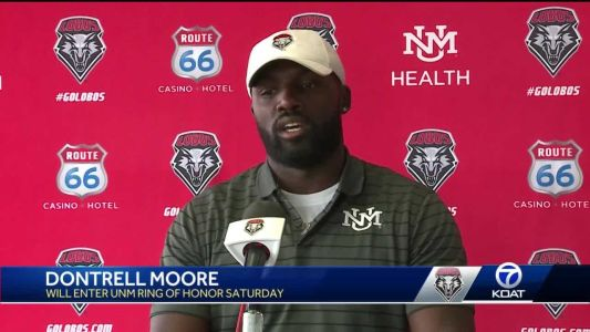 DonTrell Moore to be inducted into the UNM Ring of Honor