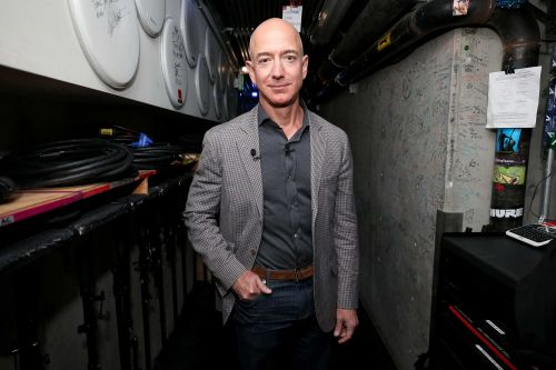 Jeff Bezos and brother are going to space as part of Blue Origin's first manned launch
