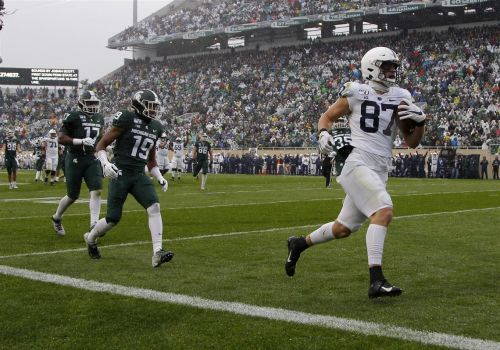 Penn State tight end Pat Freiermuth isn't short on confidence