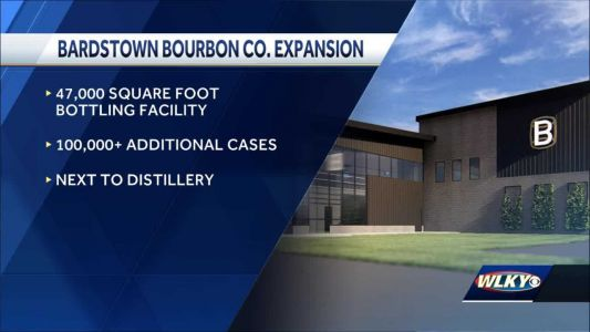 Bardstown Bourbon Company announces expansion, bringing dozens of new jobs to the area