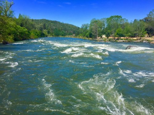 One person is missing as crews attempt a rescue in the American River