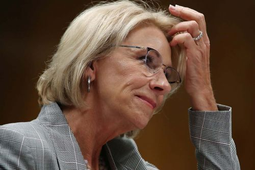 DeVos launches investigation into college admissions scandal