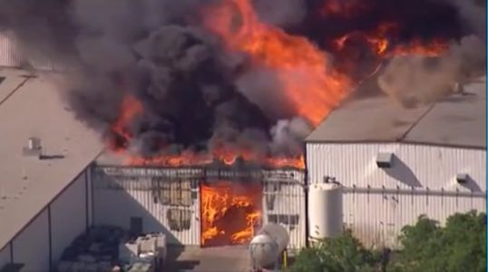 WATCH: Officials update on fire at Rockton, Illinois chemical plant