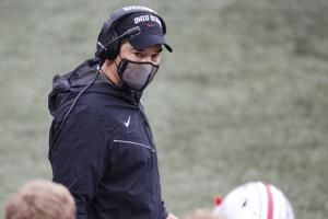 Ohio St. coach Day tests positive for virus, will miss game