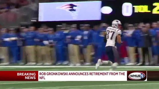 Patriots tight end Rob Gronkowski announces retirement from NFL