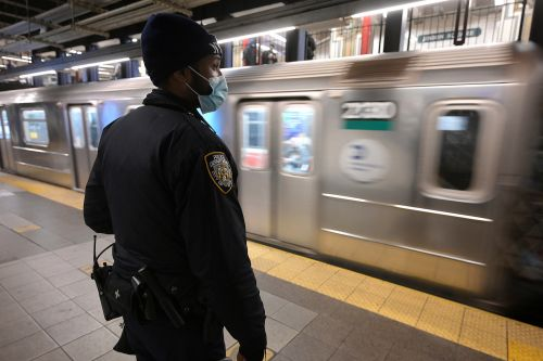 Three people slashed, one punched in chain of attacks on NYC subway train