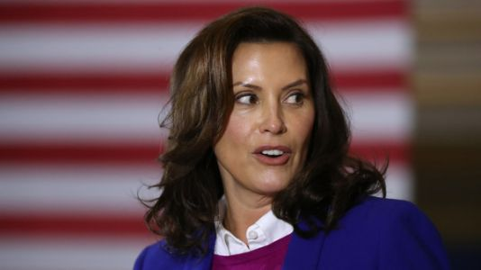Michigan Gov. Whitmer Says Trump Incites Domestic Terrorism