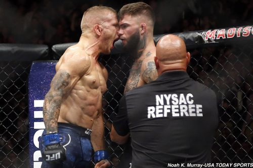 T.J. Dillashaw says 'scared' Henry Cejudo 'shaking in his boots' as UFC on ESPN+ 1 draws near