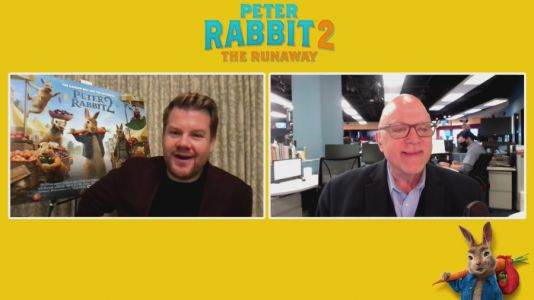 Dean chats with James Corden on 'Friends' reunion, 'Peter Rabbit 2'