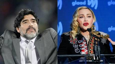 'Internet is an evil place': Twitter explodes over 'MADONNA death' after football legend Maradona passes away