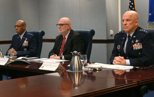 Roth, Brown, Raymond present Air, Space Forces priorities to Congress