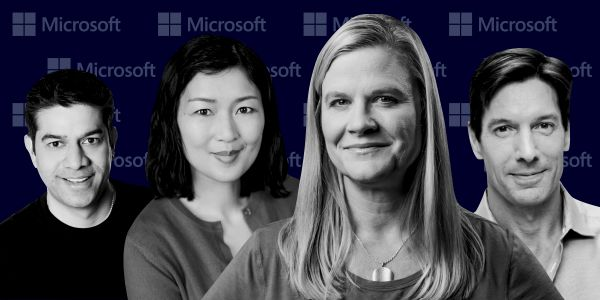 Here are 19 of the most important executives leading Microsoft's cloud business as it takes on Amazon Web Services