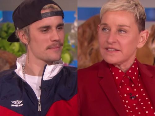 Justin Bieber admits to Ellen DeGeneres the song 'Yummy' is about sex with Hailey Baldwin and then tries to shut down the conversation