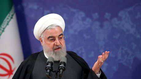 Iran will never talk to US under pressure or from 'position of weakness' - President Rouhani