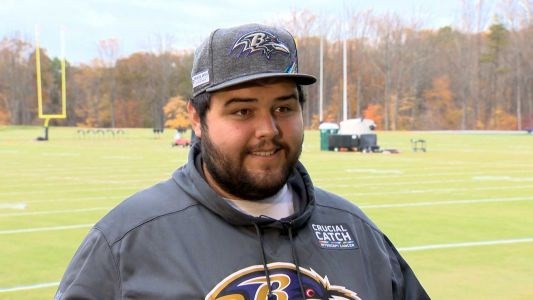 'They know me on a first-name basis': Man takes pride in work with NFL team