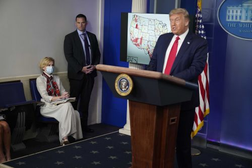 Chasm grows between President Trump and government coronavirus experts