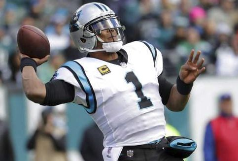 Cam Newton rallies Panthers to 21-17 win over Eagles