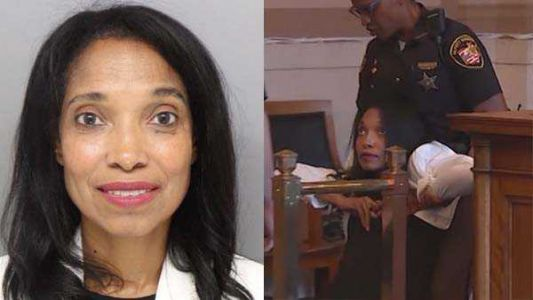 Chaotic courtroom scene underscores passion elicited by former Judge Tracie Hunter's 6-month jail sentence