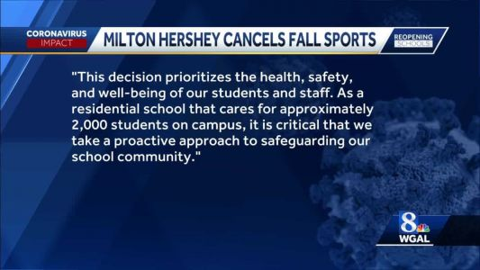 Milton Hershey School will not participate in fall sports