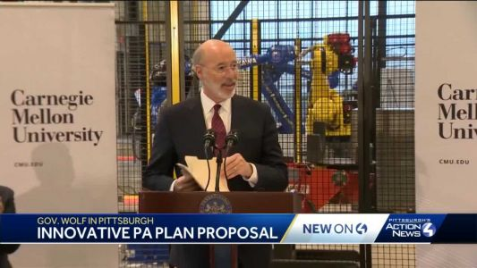 Gov. Tom Wolf wants Pennsylvania to be innovation leader