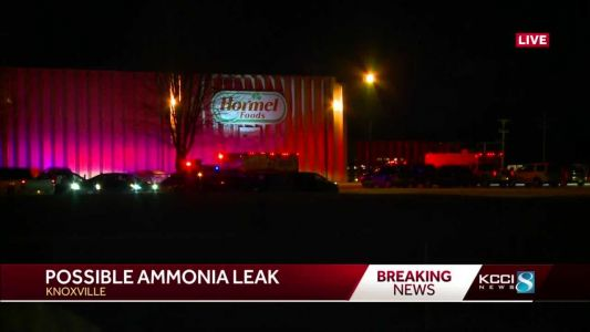 Crews respond to possible ammonia leak at Hormel plant in Knoxville