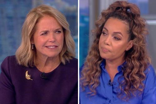"""'The View': Katie Couric Sparks Tensions With Sunny Hostin Over """"Distorted"""" New Book"""