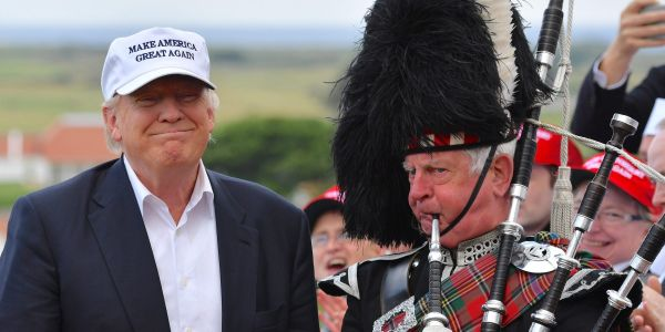 Trump's Scottish golf courses face potential 'unexplained wealth order' as legal challenge seeks investigation into their all-cash funding