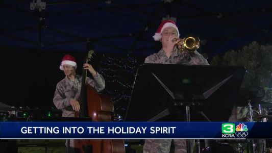 Travis Air Force Base welcomes the holidays with family fun