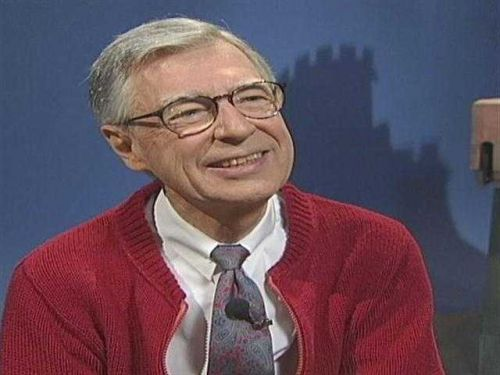 Mister Rogers Cardigan Day on Wednesday