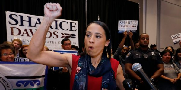 First-term Rep. Sharice Davids faces Republican Amanda Adkins in Kansas' 3rd Congressional District