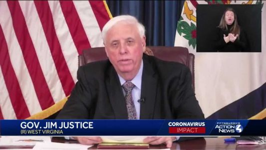 West Virginia Gov. Jim Justice loosens some pandemic restrictions