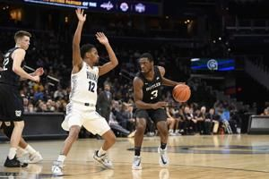 Baldwin heats up again, No. 16 Butler beats Georgetown 69-64