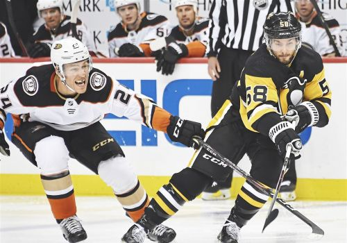 Kris Letang doesn't have the NHL's hardest shot, but he knows when to pick his spots