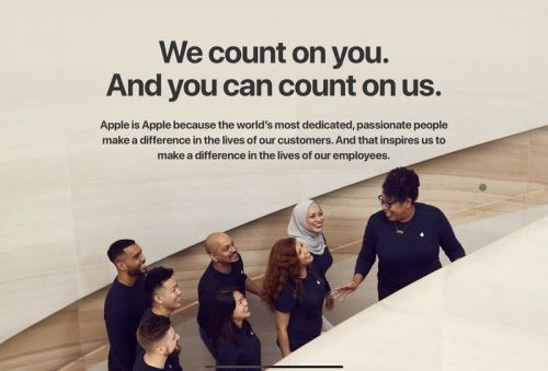 Apple launches a new Benefits page on its Jobs website