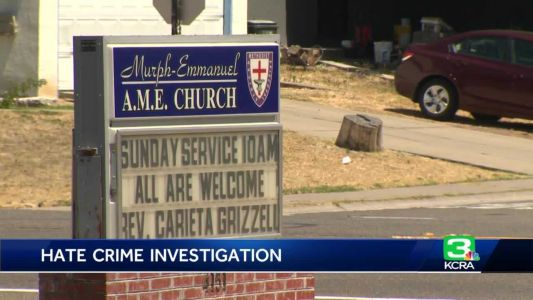 Deputies investigate racist vandalism at North Highlands church
