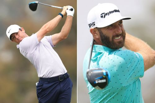 What's wrong with Rory McIlroy and Dustin Johnson?