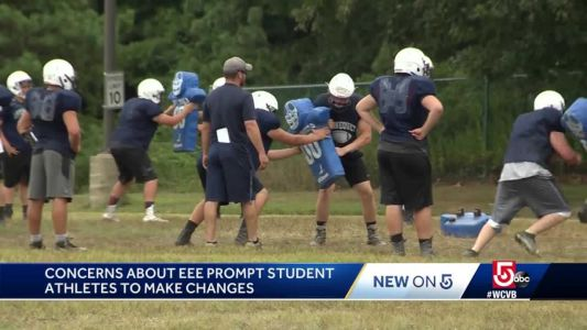 Concerns about EEE prompt student athletes to make changes