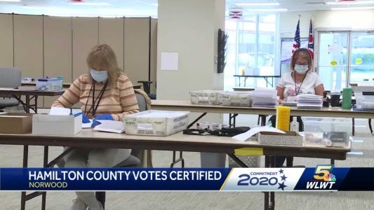 15 days after Election Day, Hamilton County votes certified