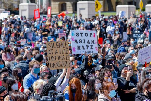 The US Senate has officially passed an anti-Asian hate crimes bill