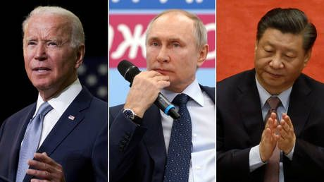 Biden's belief that Putin is conspiring with China to take down democracy betrays his complete ignorance of Russia's own politics