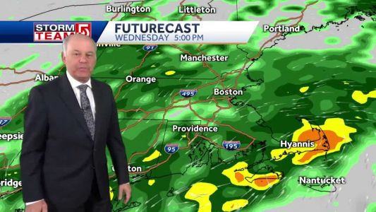 Video: More rain Wednesday before improving weather arrives