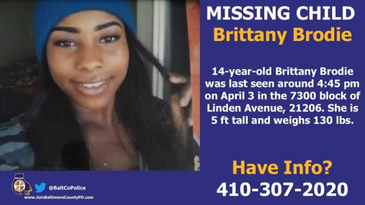 Police search for missing 14-year-old girl last seen in early April