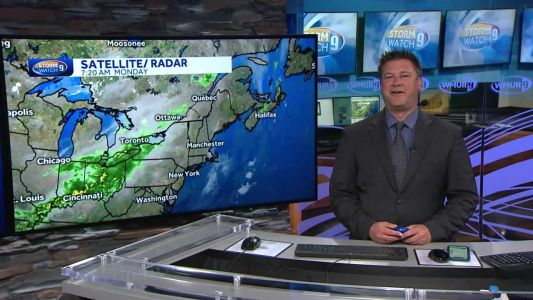 Watch: Partly sunny with passing showers in north