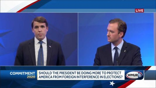 2020 NH 1st District debate: How to protect US from election interference