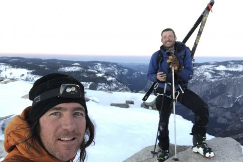 'Just trying to stay in control and stay alive': 2 skiers defy death in descent of Yosemite's Half Dome